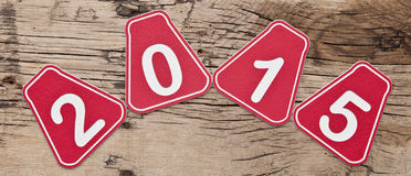 De achtergrond van het nieuwjaar Royalty-vrije Stock Foto