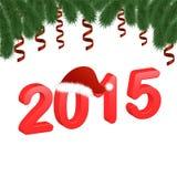 De achtergrond van het nieuwjaar Stock Fotografie
