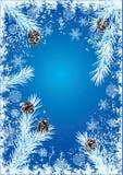 De achtergrond van het nieuwjaar Stock Afbeelding