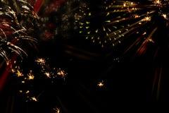 De achtergrond van het nieuwjaar `s stock afbeelding