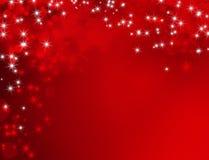 De Achtergrond van het Nieuwjaar van Kerstmis Stock Foto