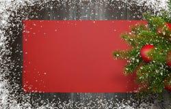 De Achtergrond van het Nieuwjaar van Kerstmis Stock Foto's