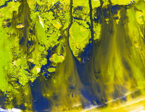 De achtergrond van het olieverfschilderij Stock Foto's