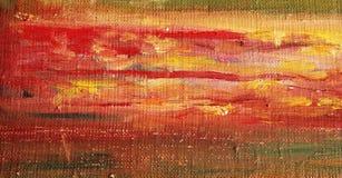 De achtergrond van het olieverfschilderij Stock Afbeeldingen