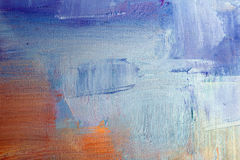 De achtergrond van het olieverfschilderij Stock Foto