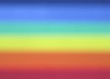 De Achtergrond van het Onduidelijke beeld van de regenboog Stock Afbeeldingen