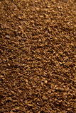 De achtergrond van het onmiddellijke koffiepoeder Stock Afbeeldingen