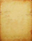 De achtergrond van het oude document Stock Foto