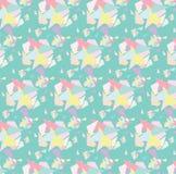 De Achtergrond van het Pastlepatroon Stock Afbeeldingen