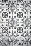 De Achtergrond van het Patroon van het Hart van het metaal Royalty-vrije Stock Foto's