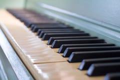 De achtergrond van het pianotoetsenbord Royalty-vrije Stock Foto