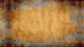 De achtergrond van het pleister met bakstenen muur frame Royalty-vrije Stock Afbeelding