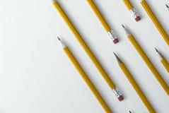 De achtergrond van het potlood stock afbeeldingen