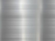 De Achtergrond van het roestvrij staal stock illustratie