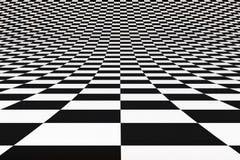 De achtergrond van het schaak stock illustratie