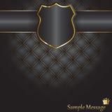 De achtergrond van het schild Royalty-vrije Stock Afbeeldingen