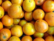 De achtergrond van het sinaasappelenfruit Royalty-vrije Stock Fotografie