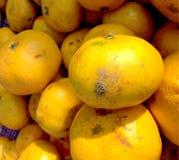 De achtergrond van het sinaasappelenfruit Stock Foto