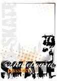 De achtergrond van het skateboard Royalty-vrije Stock Afbeelding