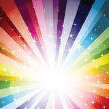 De Achtergrond van het spectrum Stock Foto's