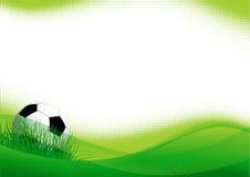 De achtergrond van het sportvoetbal Royalty-vrije Stock Afbeeldingen
