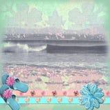 De Achtergrond van het strand royalty-vrije illustratie