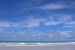 De Achtergrond van het strand Stock Foto