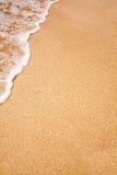 De Achtergrond van het strand Stock Afbeelding