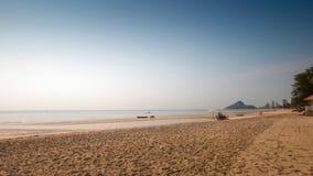 De achtergrond van het strand en van het zand Stock Fotografie