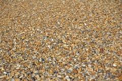 De Achtergrond van het Strand van de kiezelsteen Stock Afbeeldingen