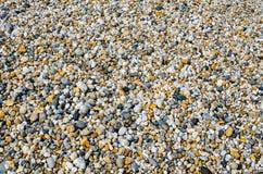 De Achtergrond van het Strand van de kiezelsteen Stock Foto's