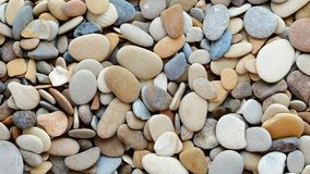 De Achtergrond van het Strand van de kiezelsteen stock footage