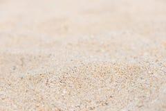 De achtergrond van het strandzand Stock Fotografie