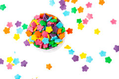 De achtergrond van het suikergoed royalty-vrije stock foto