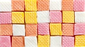 De achtergrond van het suikergoed Stock Foto's