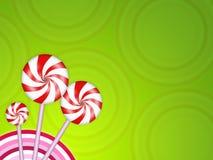 De achtergrond van het suikergoed Stock Afbeeldingen