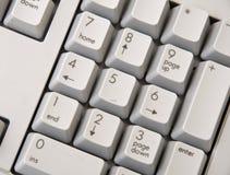 De Achtergrond van het Toetsenbord van de computer Royalty-vrije Stock Fotografie