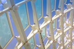 De achtergrond van het venstersglas Royalty-vrije Stock Afbeelding