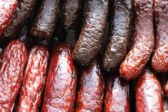 De achtergrond van het vlees Royalty-vrije Stock Afbeelding