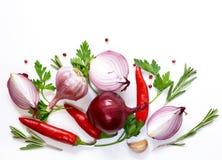 De achtergrond van het voedsel Royalty-vrije Stock Foto's