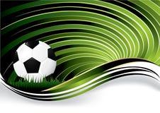 De achtergrond van het voetbal Royalty-vrije Stock Foto