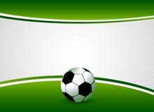 De achtergrond van het voetbal Stock Illustratie