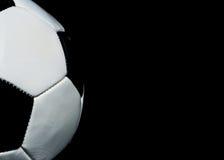 De achtergrond van het voetbal met exemplaarruimte Stock Foto