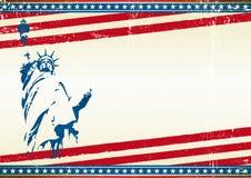 De achtergrond van het vrijheidsscherm Royalty-vrije Stock Foto