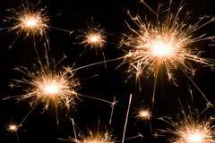 De achtergrond van het vuurwerk Royalty-vrije Stock Afbeelding