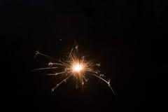 De achtergrond van het vuurwerk Stock Foto's