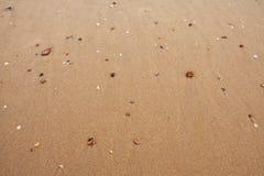 De achtergrond van het zand Royalty-vrije Stock Afbeelding