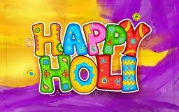 De Achtergrond van Holi Royalty-vrije Stock Afbeeldingen