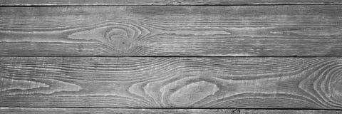 De achtergrond van de houten textuur scheept zwart-wit in horizontaal natalia stock foto's
