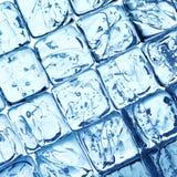 De achtergrond van ijsblokjes stock foto